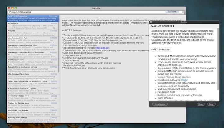 nvALT2.0 para Mac