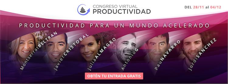 Ven al congreso de productividad